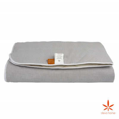 Фото BABY STRIPE hemp blanket 100x100cm